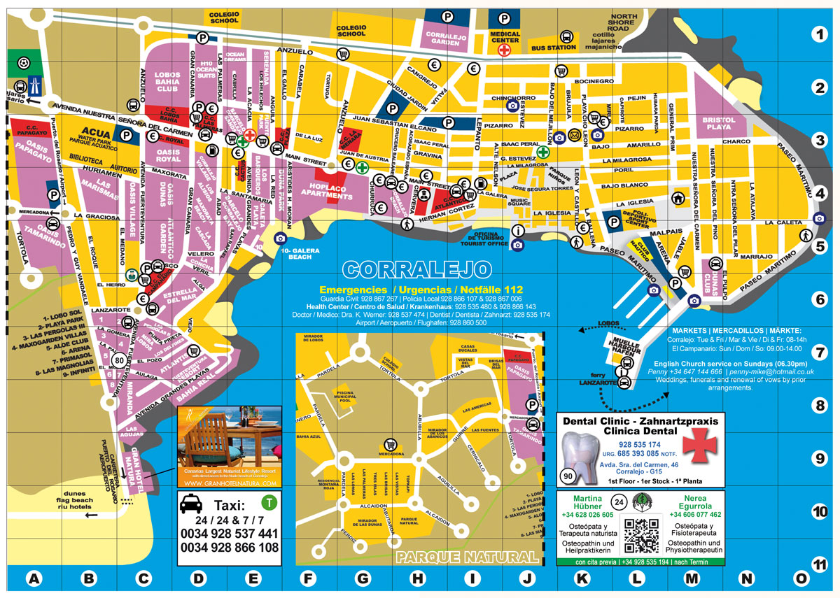 CORRALEJO MAP web