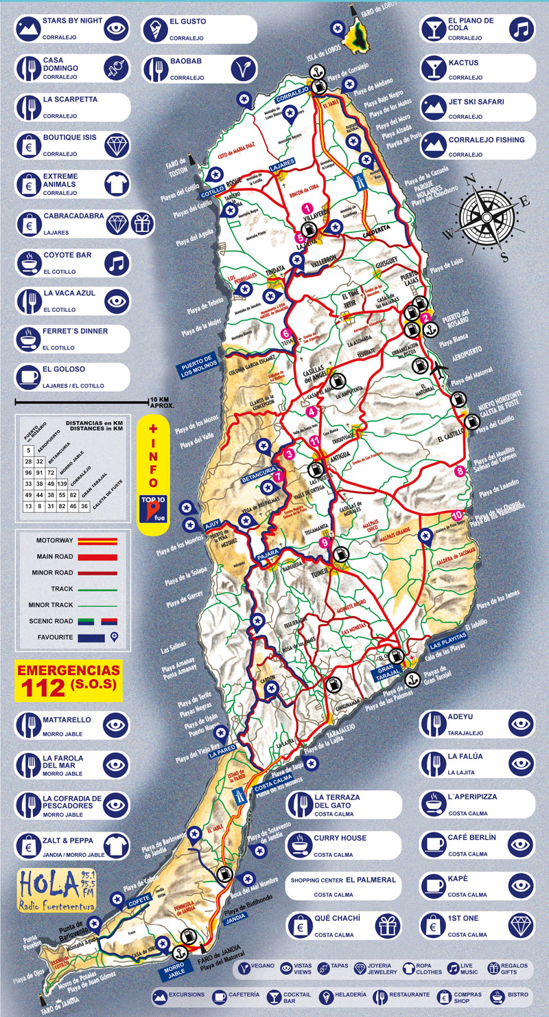 FUERTEVENTURA MAP web