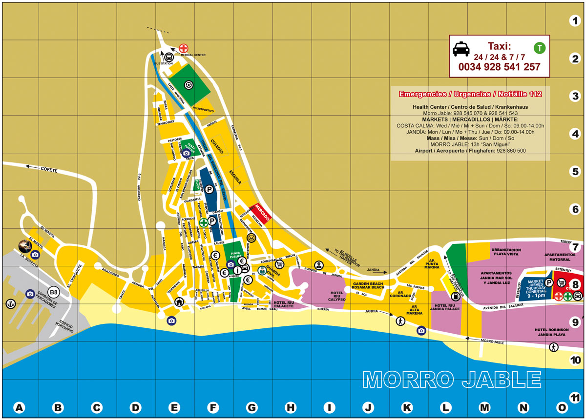 MORRO JABLE MAP web